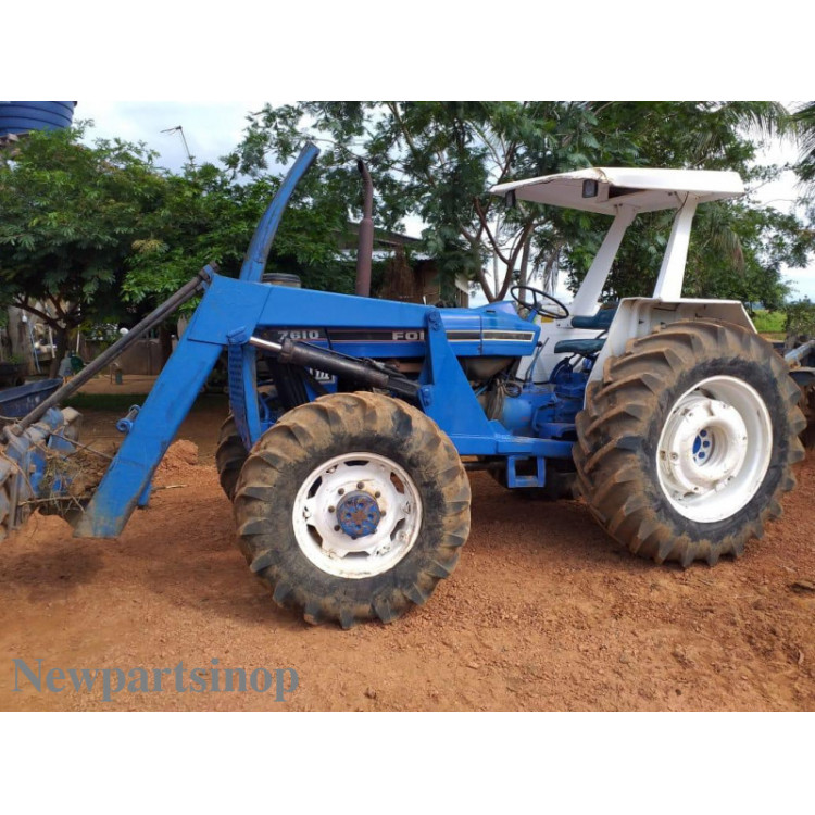 TRATOR FORD NEW HOLLAND 7610